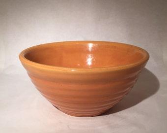 Orange Bauer Bowl
