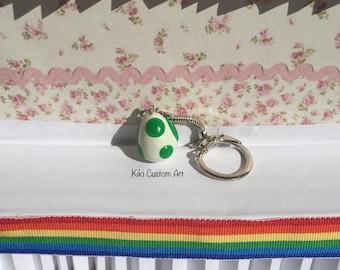 Yoshi/Pokemon Egg Key Chain