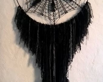 Dream catcher dreamcatcher giant black PLUMAGE