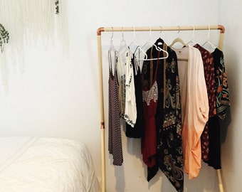 Copper + Pine Clothing Rack