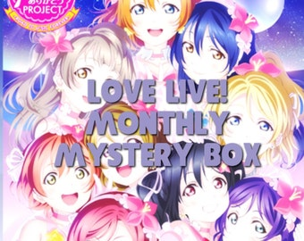 One Month - Mystery Box Love Live! monthly mystery box