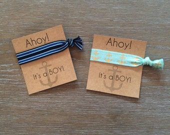 Ahoy its a boy // baby shower favor// nautical baby shower//baby shower gift// baby shower decor//boy baby shower// its a boy//gender reveal