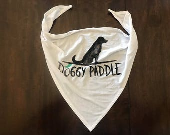 Doggy Paddle Dog Bandana