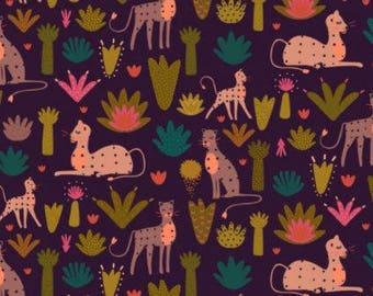 Dashwood Studio - Serengeti- Landscape at Night - Cotton Fabric (Quilting/Dressmaking)
