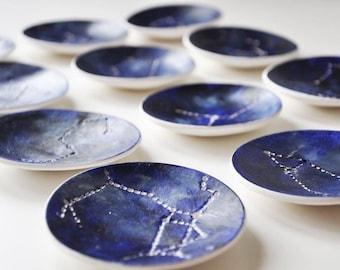 Sagittarius Constellation Star Sign zodiac Jewellery dish, Ring dish, Catchall, birthday gift, astrolgy gift