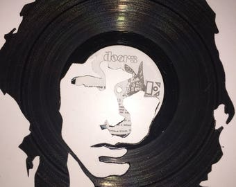 Jim Morrison-The Doors Vinyl Art