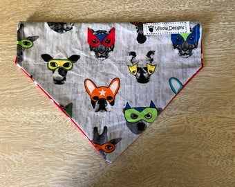 "Pet 2in1 Bandana- ""Super Spots"" 