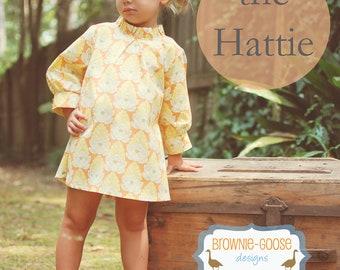 BG Originals The Hattie pdf pattern (dress or tunic)