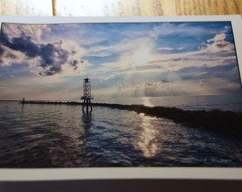 Jetty Photo Note Cards  (Set of 6 cards and envelopes)