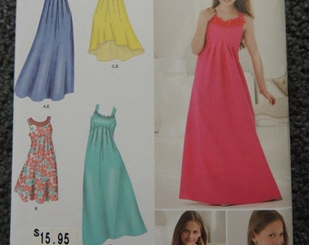 Simplicity 1510 Girl Special Occasion Dress  AA 8-16