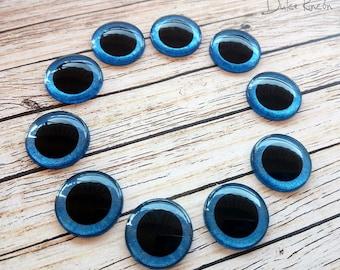 Eyechips metallized for Blythe [blue color]