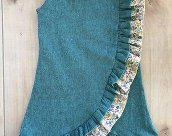 SAMPLE SALE - Rowan Dress in Teal - Size 4