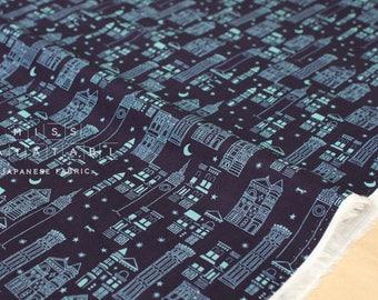 Cotton + Steel Lawn Quilt - metropolis - navy - 50cm