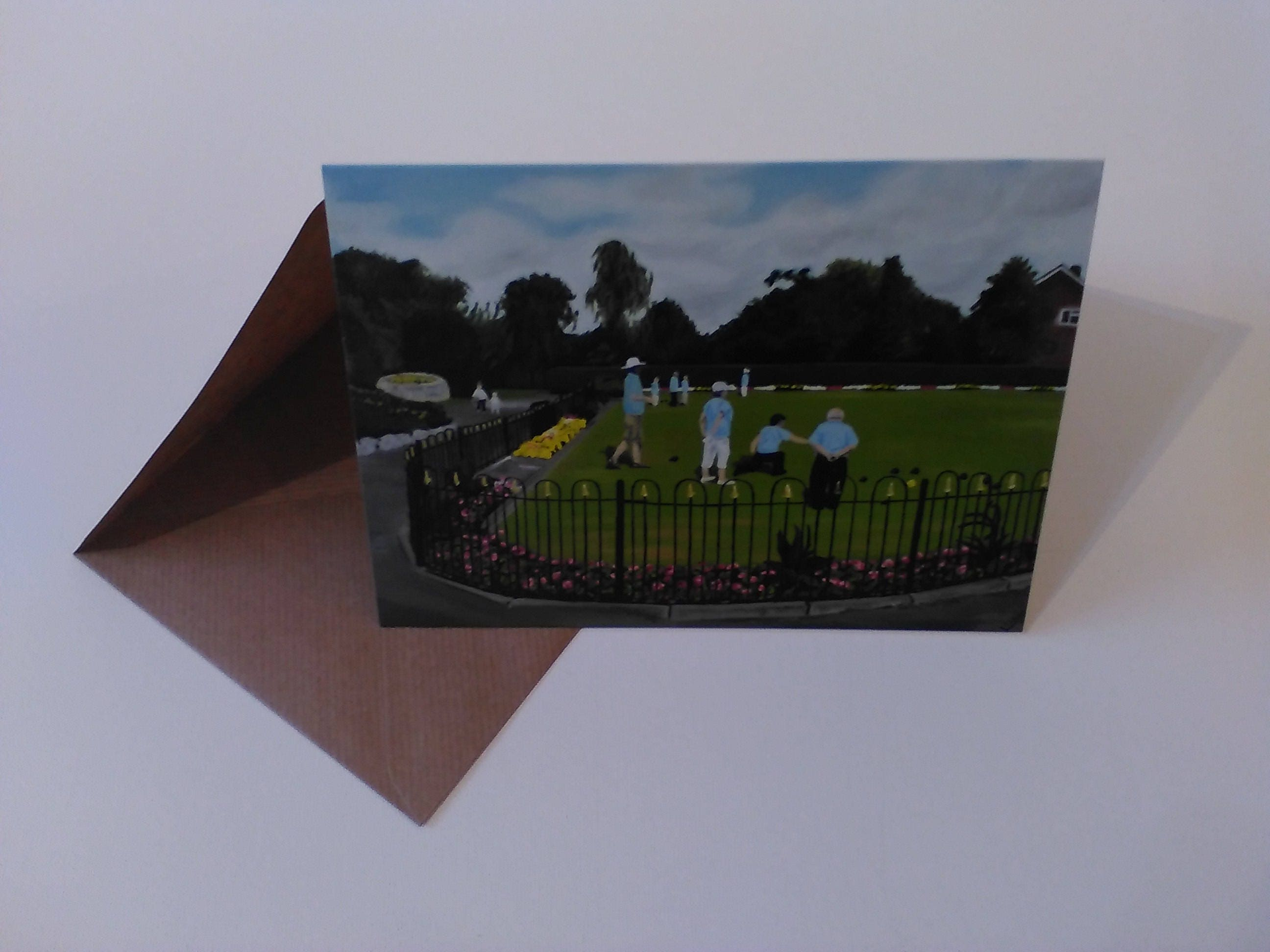 Sandbach park greeting card with envelope in cellophane wrapping m4hsunfo