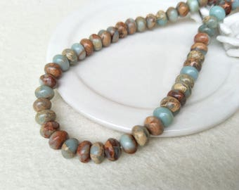 15.5 inch one stand Roundel Abacus natural serpentine gemstone Beads, serpentine Beads ,stone beads,jewelry necklace finding making SZ37
