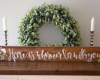 Custom wall decor, home decor, wall art, custom wall art, wood sign, rustic home decor, custom wedding gift, housewarming gift, wall decor