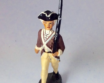 Vintage Elastolin Continental Army Toy Soldier