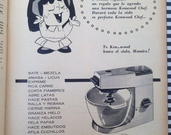Kenwood chef a901e repair kit capacitors resistor triac mixer kenwood chef ad 1950s asfbconference2016 Choice Image