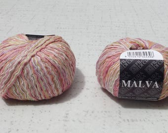 Filatura Decrosa Malva Yarn,Ribbon Yarn, Yarn Destash