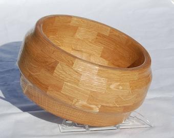 Oak Wooden Yarn Bowl