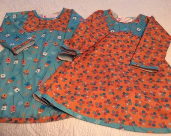Girls Long Sleeve Fall Dress size 4