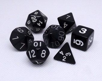 Multi Sided Dice Silicone Mold