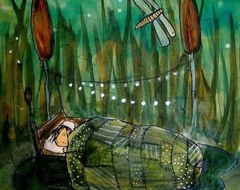Reed Sleeper- Archival Print