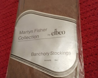 Vintage Stockings By Elebo Size Small Colour Nutmeg