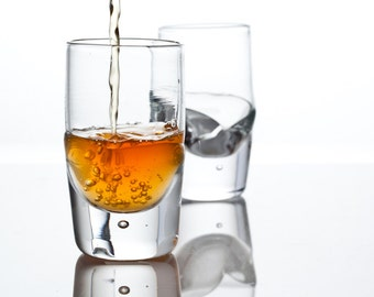 "One x ""Scotch / Whisky / Bourbon""  drinking glass tumbler"