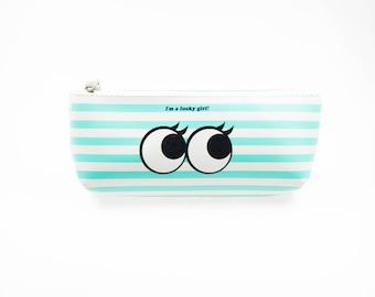 Cute pencil case, make up bag.