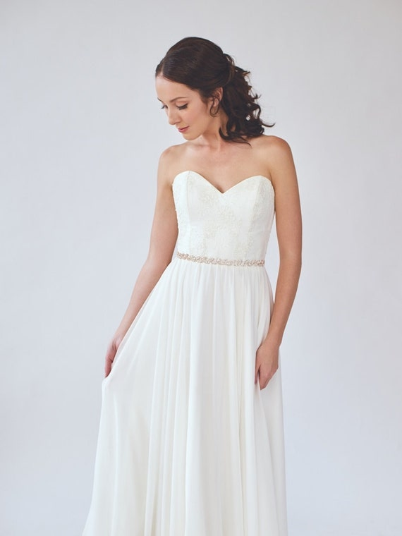 Leaves Wedding Dress