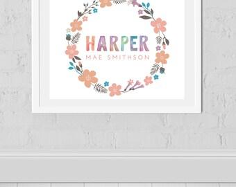 Harper Name Etsy