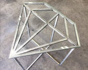 Diamond side table, night stand