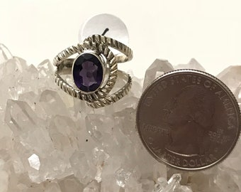 Amethyst Ring, Size 6
