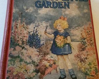 Reduced 1924 book, Honey Bunch Her First Little Garden