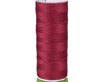 Ruby Red Gutermann Recycled Polyester Thread (GT384)