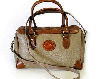 Vintage Dooney and Bourke Doctor Leather Tote Shoulder Bag Handbag SALE
