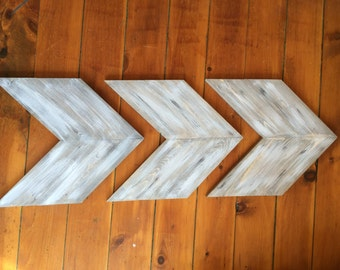 Wooden Arrows - Barnwood Arrows - Rustic Home Decor - Shabby Chic Arrows - Modern Arrows - Wooden Arrow Wall Art