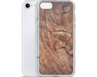 Wood Texture Plastic Phone Case, iPhone Case, Samsung Galaxy Case, Cool Phone Cases, Print Phone Case, Made to Order