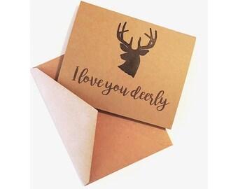Love You Deerly Card