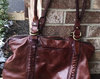 Vintage Cole Haan Brown Leather Purse