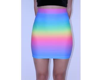 Rainbow Spectrum Skirt