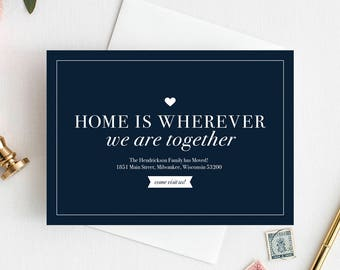 free moving announcement templates