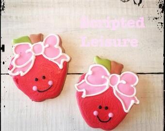 Apple Cookies, Teacher Appreciation