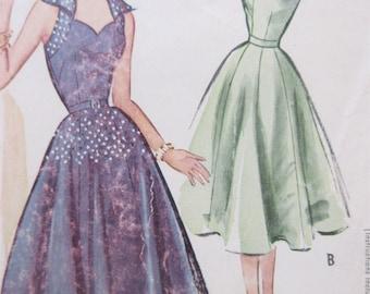 Fall Evening Dresses 1950s