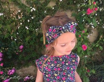 Belt headband bloom 2-10 years