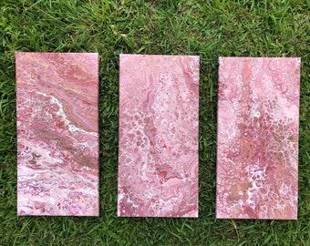 Pink Bubbles Set 10x20