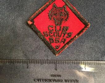 Cub Scouts BSA Badge Vintage