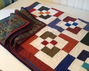 modern Chopped Block Quilt