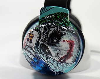 Customized Headphones - Unique Earphones Hand Painted Headphones Music Accessories Christmas Gifts Men's Woman's Gift Ideas for Gift for Men